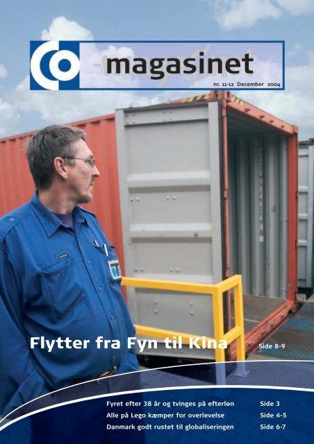 Flytter fra Fyn til Kina - CO-industri