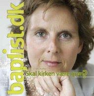 Nr. 7 - 2009 - Baptistkirken i Danmark