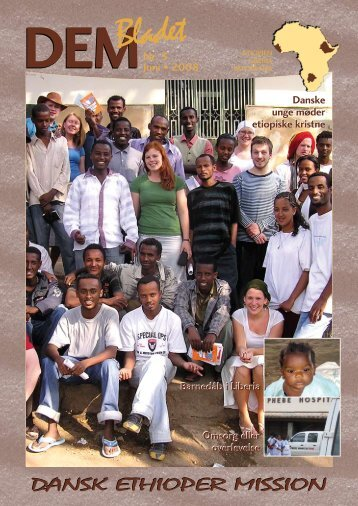 DEM-Bladet nr. 3 Juni 2008 - Dansk Ethioper Mission