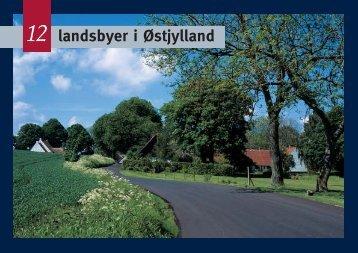 12 landsbyer i Østjylland