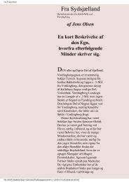 Fra Sydsjælland - Skolen for livet — det timelige.