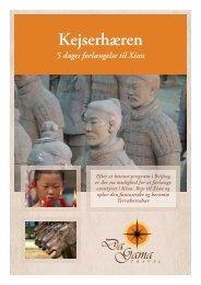 Kejserhæren 5 dages forlængelse til Xian - DaGama Travel