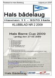 KLUBBLAD NR 2 2009 - Hals bådelaug