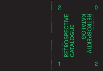 Retrospektiv katalog 2012 - Hordaland Kunstsenter