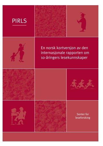 Last ned pdf (253 kb) - Lesesenteret