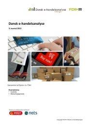 Download: Dansk e-handelsanalyse 3. kvartal 2012 - FDIH