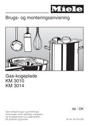 Brugs- og monteringsanvisning Gas-kogeplade KM ... - Hvidt & Frit