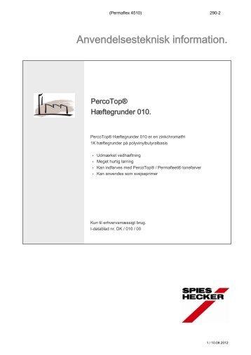 PercoTop® Hæftegrunder 010 - Baden-Jensen A/S