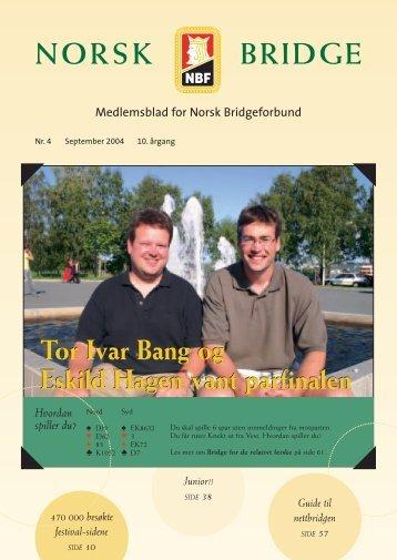 Nr. 4 - 2004 - Norsk Bridgeforbund