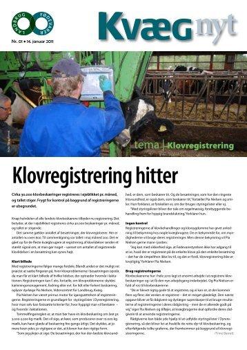 Kvæg Nyt nr. 21 - 2010 - Videncentret for Landbrug