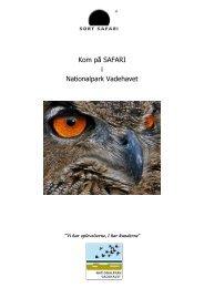 Erhverskatalog printudgave - Sort Safari