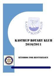 Rotary Rotary Håndbog 2010-2011 1 forside - Kastrup Rotary