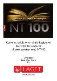 klikk her for å laste ned pdf med NT100 og kort introduksjon ... - NKSS