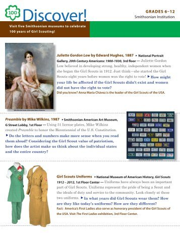 Discover! 6-12 English - Smithsonian Institution