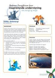 Elevvejledning - Energitjenesten