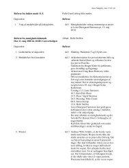 Referat fra Menighedsrådsmøde 11. maj 2010 - Store Magleby Kirke