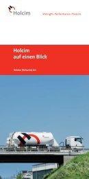 Holcim auf einen Blick (PDF-Datei, 899 KB)