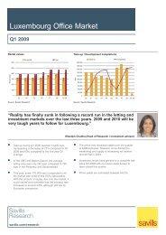 Luxembourg Office Market - 09 Q1.qxp - Savills