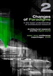Volume 2 - European association for architectural education