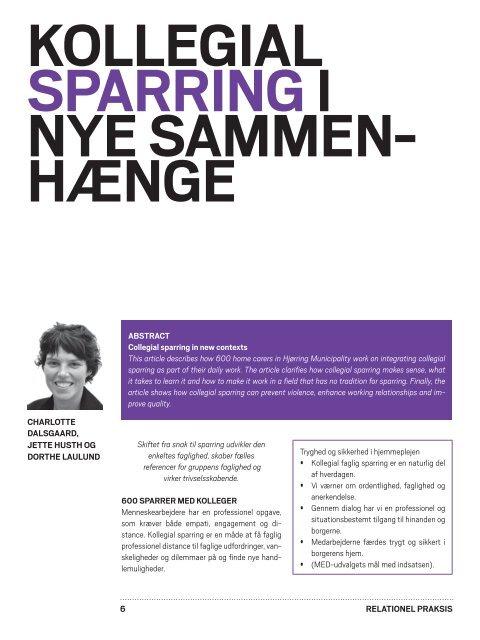 Relationel praksis - MacMann Berg