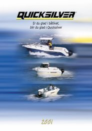 Er du glad i båtlivet, blir du glad i Quicksilver - Brunswick Marine in ...