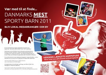 danmarks mest sporty barn 2011 - Velkommen til motionevent.dk!!