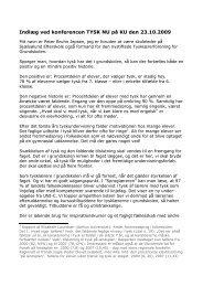 Indlæg ved konferencen Tysk Nu på KU den 23 - endelig udgave