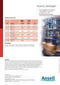VANTAGE® 70-765/766 - Ansell Healthcare Europe - Page 4