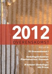 Emballageoverenskomst 2012 - HK