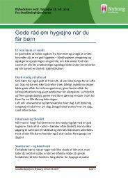 Nyhedsbrev nr. 3 - 28. august 2012 (pdf åbner i ... - Nyborg Kommune