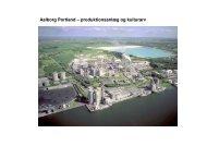 Aalborg Portland – produktionsanlæg og kulturarv