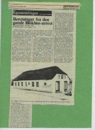 Beretninger fra den ;amle Brøkhus-arrest - Egnssamlingen