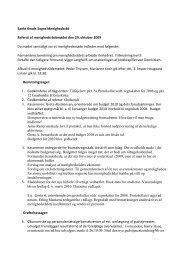 Referat af menighedsrådsmødet 29. oktober 2009 - Odense Domkirke