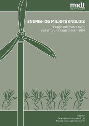 ENERGI- OG MILJØTEKNOLOGI - Region Midtjylland