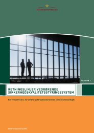 Retningslinjerne - Sikkerhedsstyrelsen