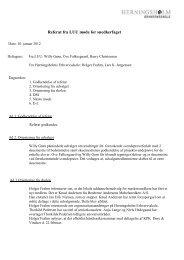 Referat fra LUU møde for snedkerfaget - Herningsholm Erhvervsskole