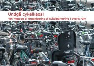 Undgå cykelkaos! - Vejforum