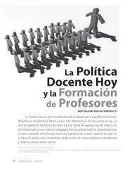 La Política docente hoy y la Formación de Profesores - Biblioteca ...