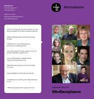 læseplanen 2012/13 - Bibelselskabet