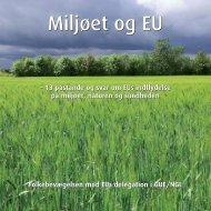 Miljøet og EU - Folkebevægelsen mod EU