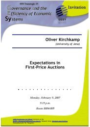 Expectations in first-price auctions
