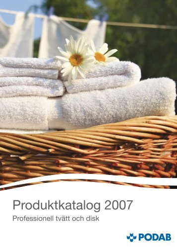 Produktkatalog 2007 - Podab