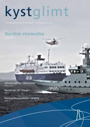 Nordisk storøvelse - Kystverket