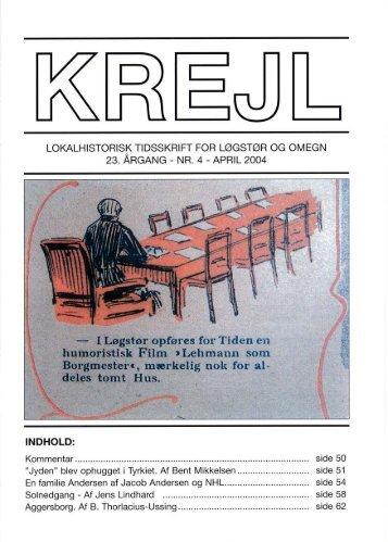 23. årgang nr. 4 - Lokalhistorisk Arkiv for Løgstør Kommune