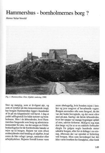 Bornholmernes borg - Bornholms Historiske Samfund