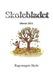 Skoleblad efterår 2011 - Rugvængets Skole