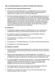 Bøje- og landpladsreglement for medlemmer af Sejlklubben ...