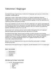 Velkommen i Slagkrogen.pdf - Slagkrogen er en grundejerforening i ...