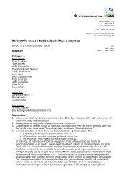 Referat fra bestyrelsesmøde d. 23. marts 2010 - Danmarks ...