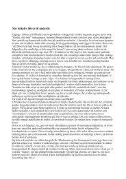 April 2013 - Når folkeliv bliver til underliv - Ribe Stift